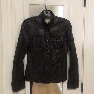 Tory Burch black leather jacket